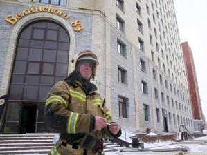 Застройщик офисника на Белинского, 83 требует деньги с «погорельцев» и не дает работать