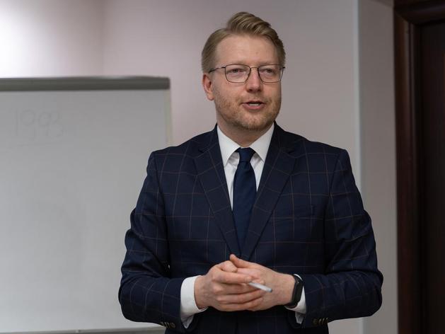 Николай Рыбаков, председатель партии «Яблоко»