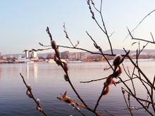 На выходных в Красноярске немного потеплеет
