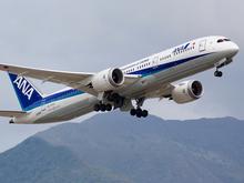 Самолет из Японии экстренно сел в Емельяново