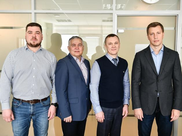 Слева направо: Александр Харисов, Вадим Шамшурин, Эдуард Богданов, Константин Буткевич