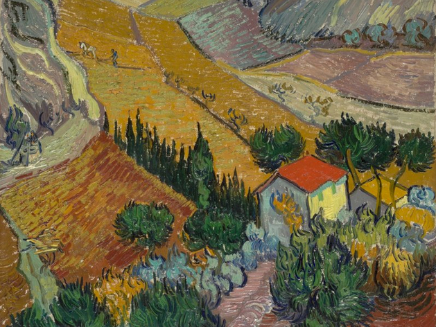 На первой выставке будут представлены картины Ван Гога