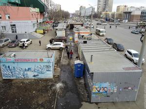 Власти Челябинска анонсировали зачистку Комсомольского проспекта от киосков и ларьков