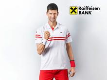 Новак Джокович и Raiffeisen Bank International подписали партнерское соглашение