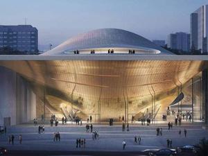 «В этом году на проект денег нет». Строительство нового зала филармонии притормозилось
