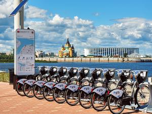 ВТБ: в Нижнем Новгороде открылся новый сезон велопроката