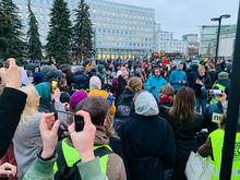 Акция протеста сторонников Алексея Навального прошла в Нижнем Новгороде