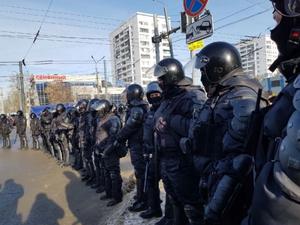Челябинская полиция потребовала с активистов 2 млн рублей за свою работу на митингах