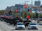 Парад Победы: колонны военных, танки, гаубицы и 14 единиц авиатехники