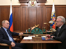 Александр Усс рассказал Владимиру Путину о «Красноярск-Сити»