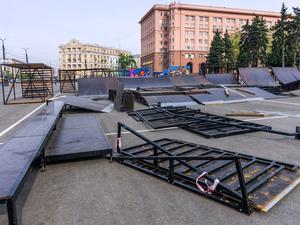 Скейт-парк со всеми удобствами: площадка откроется в центре Челябинска к середине мая