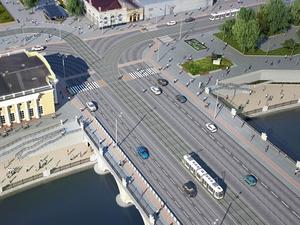 Две челябинских набережных остались без пешеходного перехода