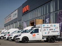 Для бизнеса и соцсферы: Челябинску представили коммерческий транспорт LADA