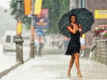 Красноярск ожидает летняя жара и дожди