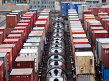 Контейнерные перевозки по КрасЖД пошли на спад