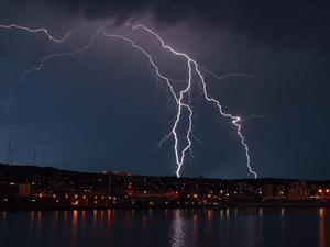 На Красноярск снова надвигается шторм