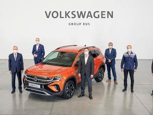 Нижний Новгород стал третьим городом в мире, где выпускают кроссоверы Volkswagen Taos