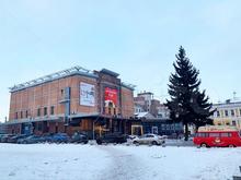 Вновь продается здание бывшего кинотеатра «Октябрь». Оно подорожало на 20 млн