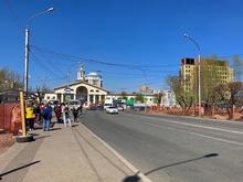 Схема движения транспорта у автовокзала Красноярска изменится на этой неделе