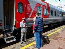 Поезд Красноярск — Москва вернулся с запасного пути