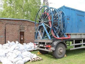 «КрасКом» подготовился к защите водозаборов от паводка