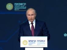 Путин похвалил Челябинскую область за улучшение инвестиционного климата