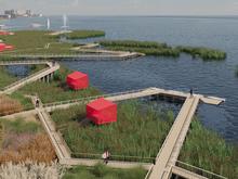 Деревянные мосты и беседки в камышах: на Смолино готовят новый элемент благоустройства