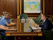 Нового прокурора Челябинской области представили губернатору