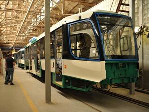 На УКВЗ достраивают первую партию новых трамваев для Челябинска