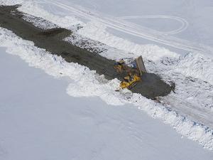 «Северная звезда» начала строить дорогу к угольному месторождению на Таймыре