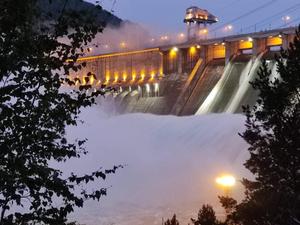 «МегаФон»: водосброс на ГЭС увеличил трафик в несколько раз