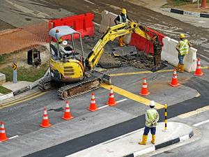 В мэрии рассказали, какие дороги отремонтируют на выходных