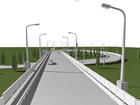 Разобранный мост в Челябинской области восстановят почти за два года и 400 млн руб.