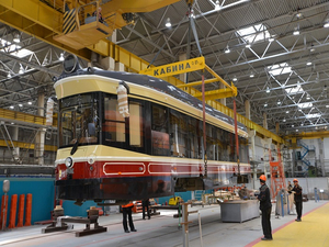 Первый ретро-трамвай отправлен в Нижний Новгород из Екатеринбурга