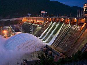Сброс воды на Красноярской ГЭС снизят