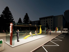 Новая концепция стеклянных остановочных комплексов в центре Челябинска