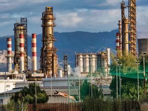 Сразу пять сфер промышленности региона показали резкий спад производства