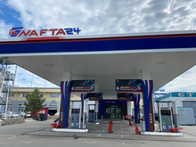 Новая АЗС NAFTA24 начала работать в Новосибирске