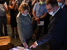 В Екатеринбурге открылся Центр «Эрмитаж-Урал». Министр культуры РФ прилетела на открытие