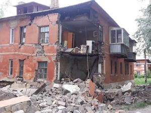 Жильцам развалившегося дома в Ленинском районе выплатят компенсацию — 175 тысяч на всех