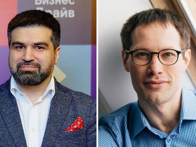 Слева направо: Михаил Качалкин, Михаил Беляев