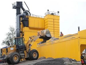 Технологии финские, инвестиции питерские. На Бору запущен завод по производству асфальта