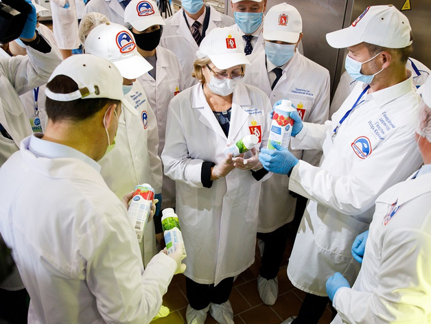 Свердловская молочная компания откроет производство в Москве за 150 млн руб.