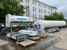 В Красноярск поставят 60 тонн жидкого кислорода для ковидных госпиталей