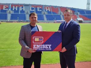 У футбольного клуба «Енисей» появился собственный мобильный оператор