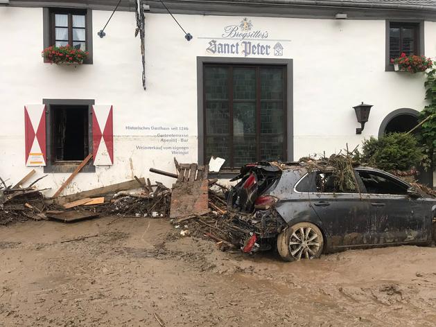 В Германии после мощных ливней погибли десятки человек. Больше тысячи пропали без вести