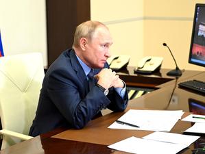 Путин поручил оказать помощь Челябинской области, где пожары уничтожили десятки домов