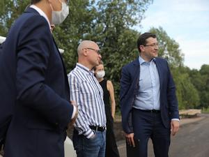 «Получается прекрасный парк». Сергею Кириенко показали реконструкцию парка «Швейцария»