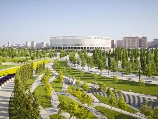 Парк Галицкого в Краснодаре разработали те же архитекторы. что будут работать над новой зеленой зоной в Екатеринбурге
