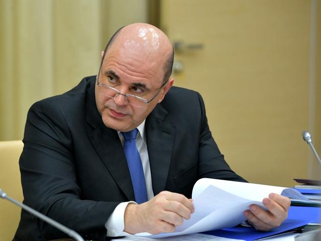 Михаил Мишустин, председатель правительства РФ